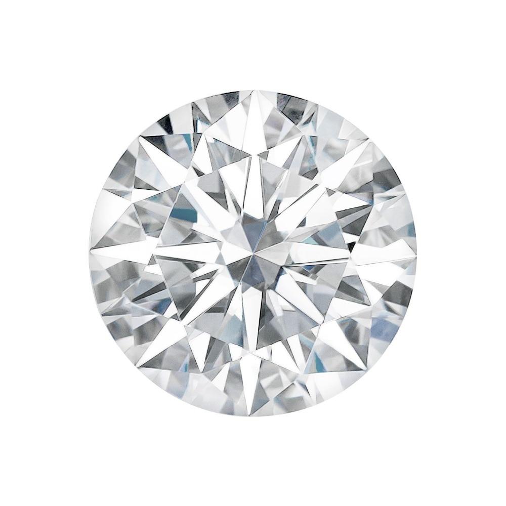 2CT اختبار إيجابي مويزانايت مفكوك الماس اختبار إيجابي ماركة 8.0 مللي متر VS1 G اللون مويسانيتي الماس فضفاض مستديرة الشكل الرائعة