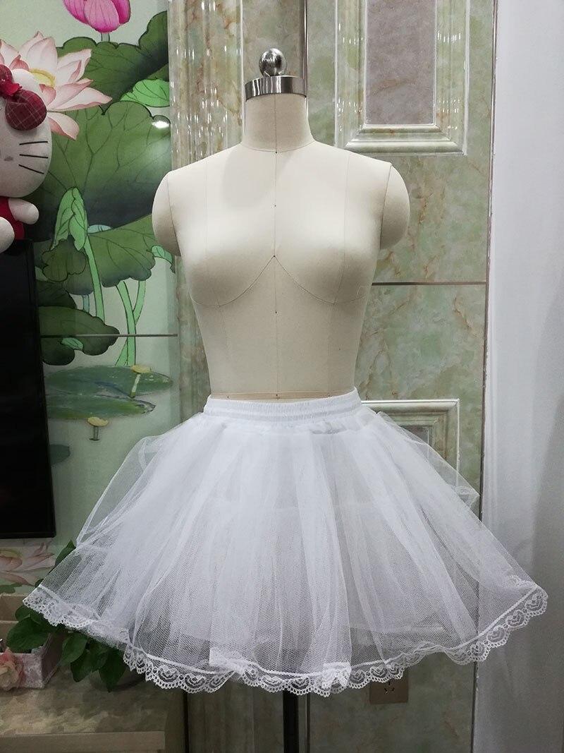 Enagua de los 50s de Estilo Vintage para mujer, enagua de Rockabilly, enagua con corte en A, tul, para fiesta, tutú, vestido