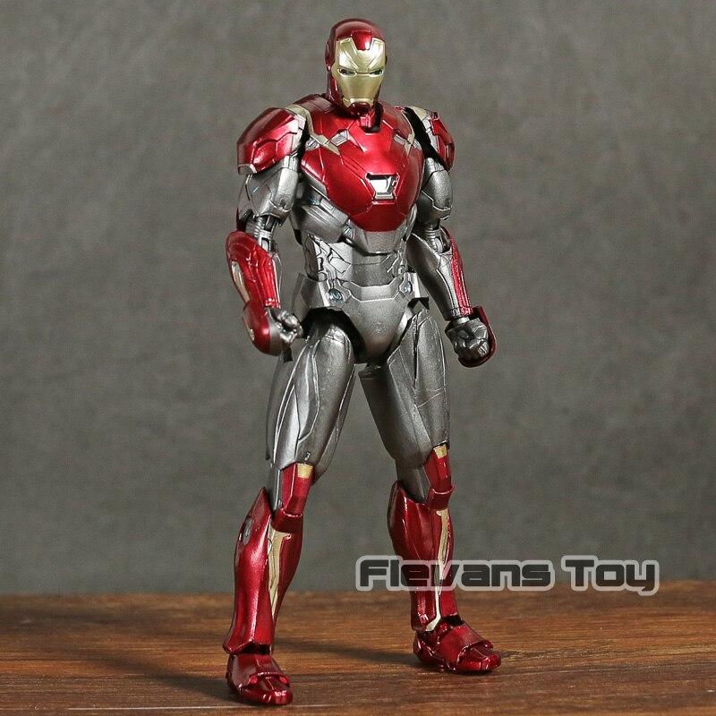 Homem de ferro MK 47 Mark XLVII PVC Action Figure Collectible Modelo Toy