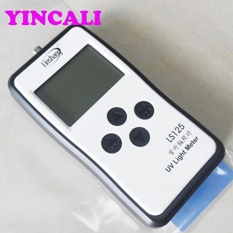 Upgrade LS125 Mutiple Sonde UV Licht Meter Test Ultraviolet Power UV Intensiteit Energie voor 365nm 395nm UVA LED UVB UVC