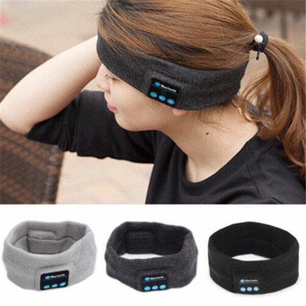 Auriculares deportivos inalámbricos Bluetooth auriculares estéreo auriculares diadema para dormir