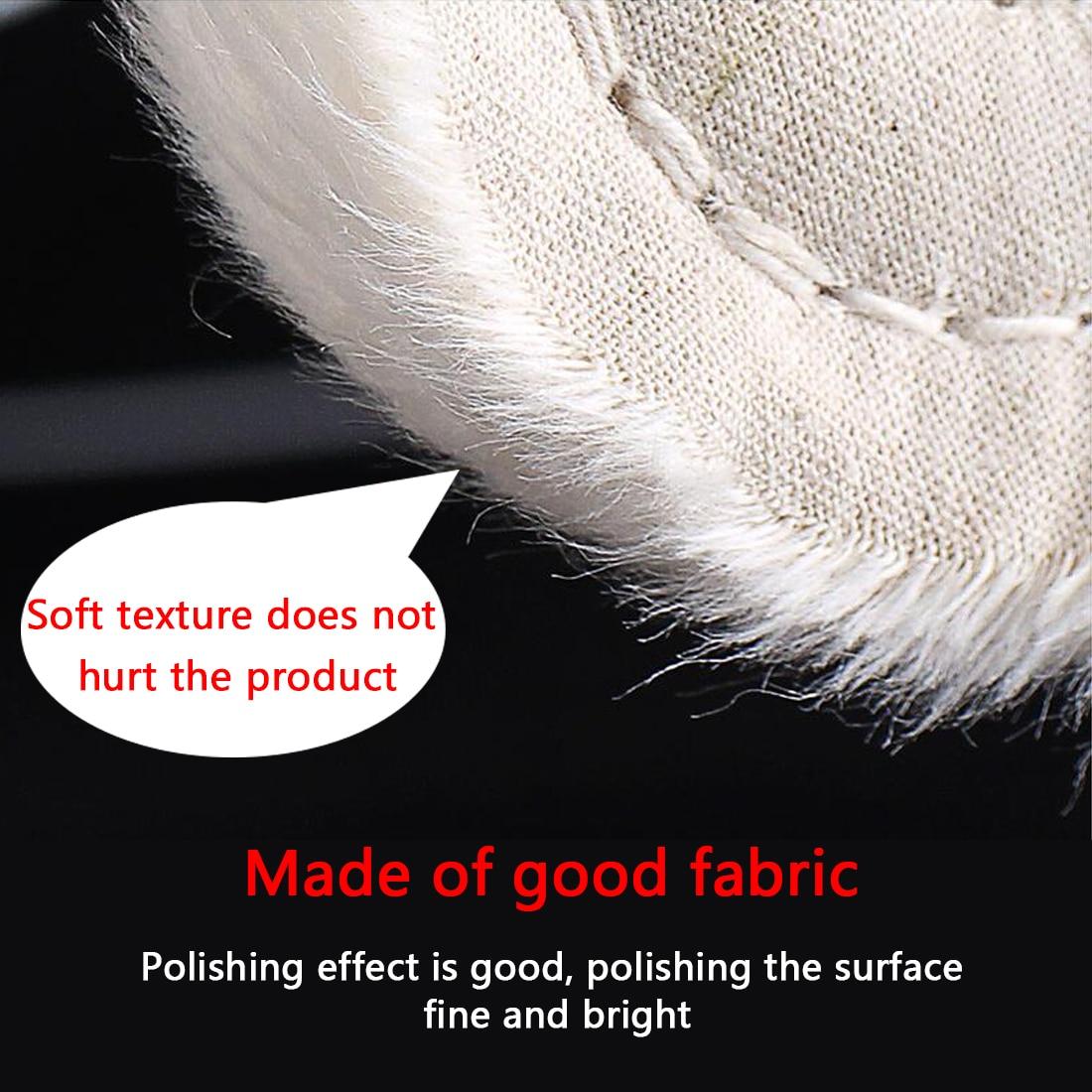 2-12 inch wielen polijsten polijstwiel katoen lint doek polijsten - Schurende gereedschappen - Foto 3