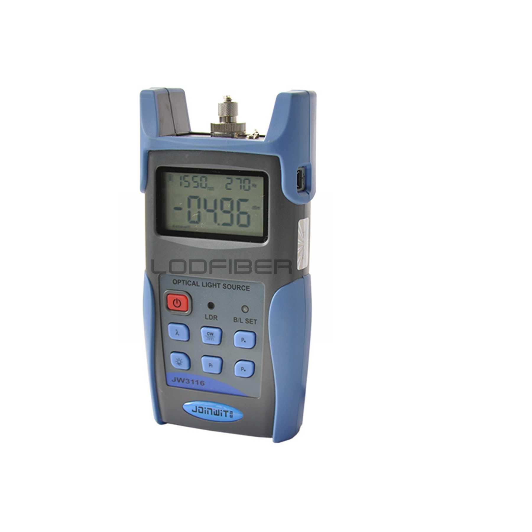 LODFIBER JW3116 Handheld Fonte de Luz 850/1310nm