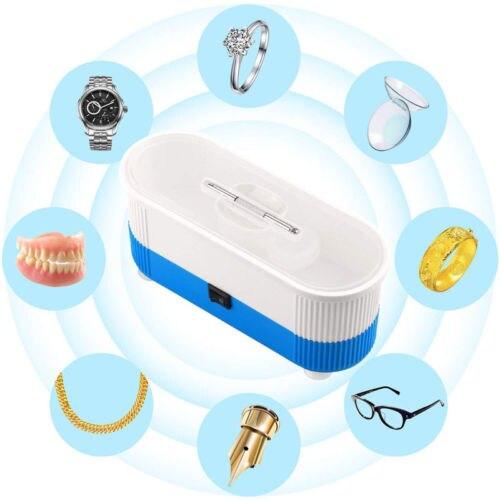 Limpiador ultrasónico pulido para joyería gafas relojes anillos piezas