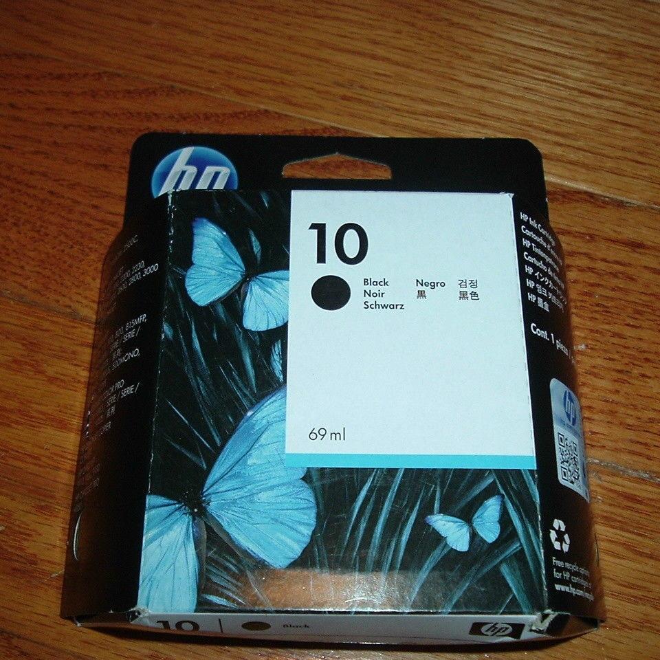 Оригинальный и истекший Черный чернильный картридж C4844A для HP 10 для HP 2500 2000 HP Business InkJet 1000 1100 1200 2300