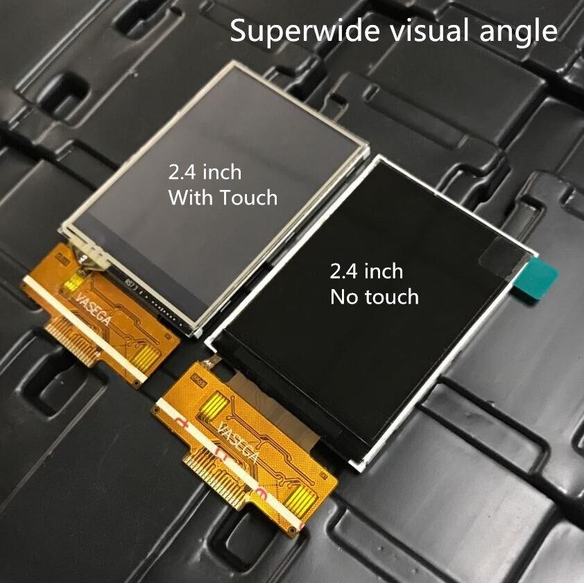 2,4/2,8/3,2 дюймов SPI TFT LCD цветной экран ILI9341 Драйвер IC 4 IO 240X320 дисплей Сенсорная панель 18PIN Сварка 0,8 мм суперширокая
