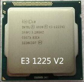 Intel Xeon E3-1225 V2 E3-1225V2 Quad Core CPU procesador 3,2 GHz LGA 1155 8MB E3 1225 V2 SR0PJ