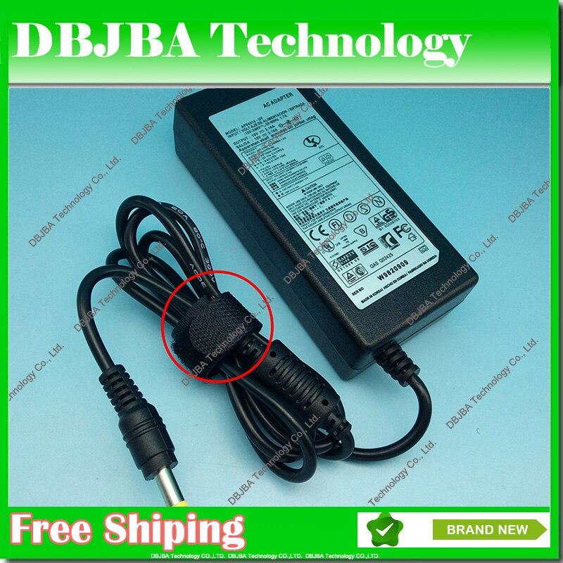 Envío Gratis V 19 V 3.16A * 5,5*3,0mm adaptador de alimentación para samsung R478 R440 R453 R780 R528 R540