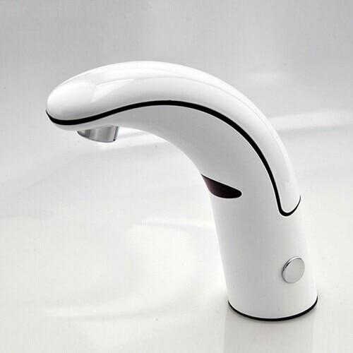 Grifo de baño con sensor Solo Frío automático grifo de lavabo sin contacto grifo de agua sensor de Solo Frío