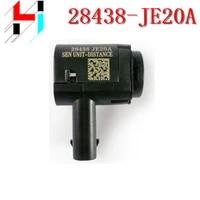 10pcs free shipping parking distance control pdc sensor assistance for nissan quashqai 07 15 28438 je20a 28438je20a