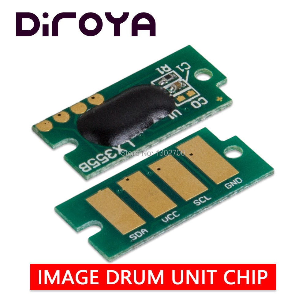 10 pces 113r00773 unidade de imagem chip para fuji xerox fase 3610 workcentre 3615 3655 wc3655 p3610 wc3615 tambor cartucho de reset chips