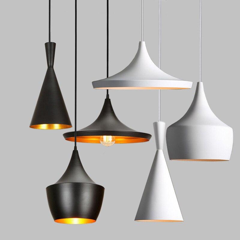 DONWEI металлическая Ретро винтажная Подвесная лампа E27 AC110-240V Подвесная лампа для ресторана, кухни