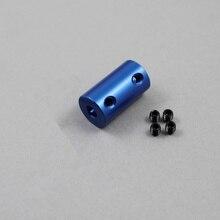 Pièces de couplage en alliage daluminium   Alésoir 5mm 8mm pour imprimantes 3D bleu, partie de la vis pour les accessoires de moteur Stepper