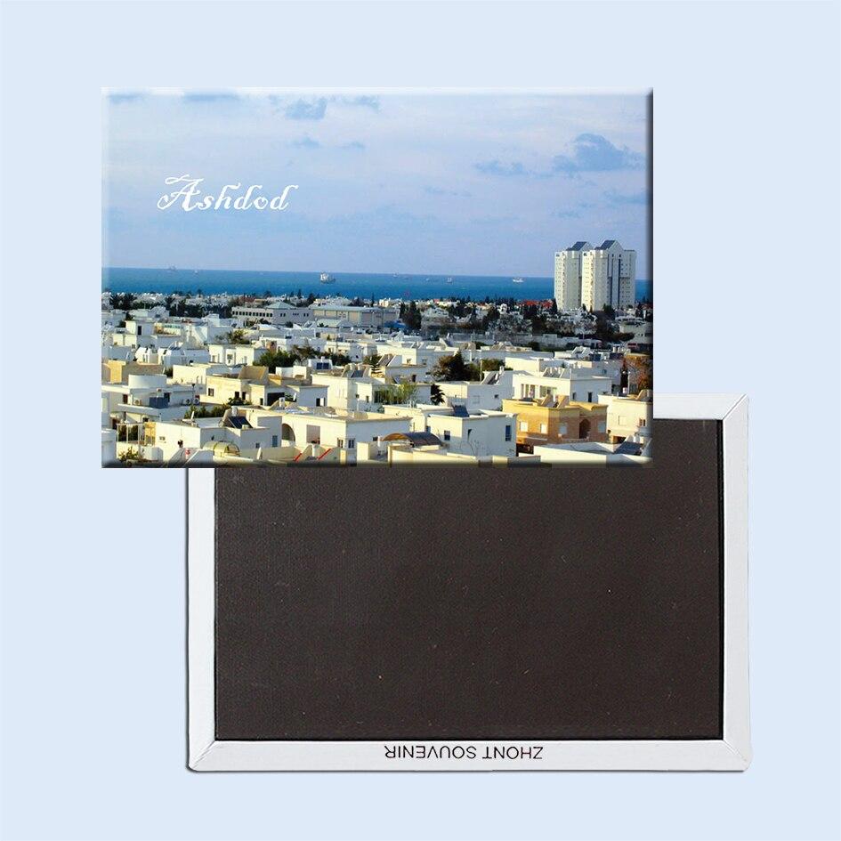 Ashdod, imanes de nevera Israel 21640 zona turística