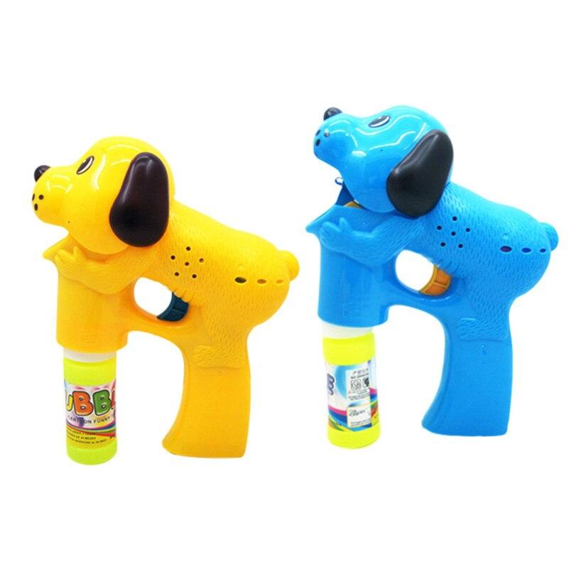 Crianças Cão Dos Desenhos Animados Elétrico Automático Bolha Máquina de Bolha Brinquedo Luz Música Crianças Brinquedos Ao Ar Livre Crianças Criança A1