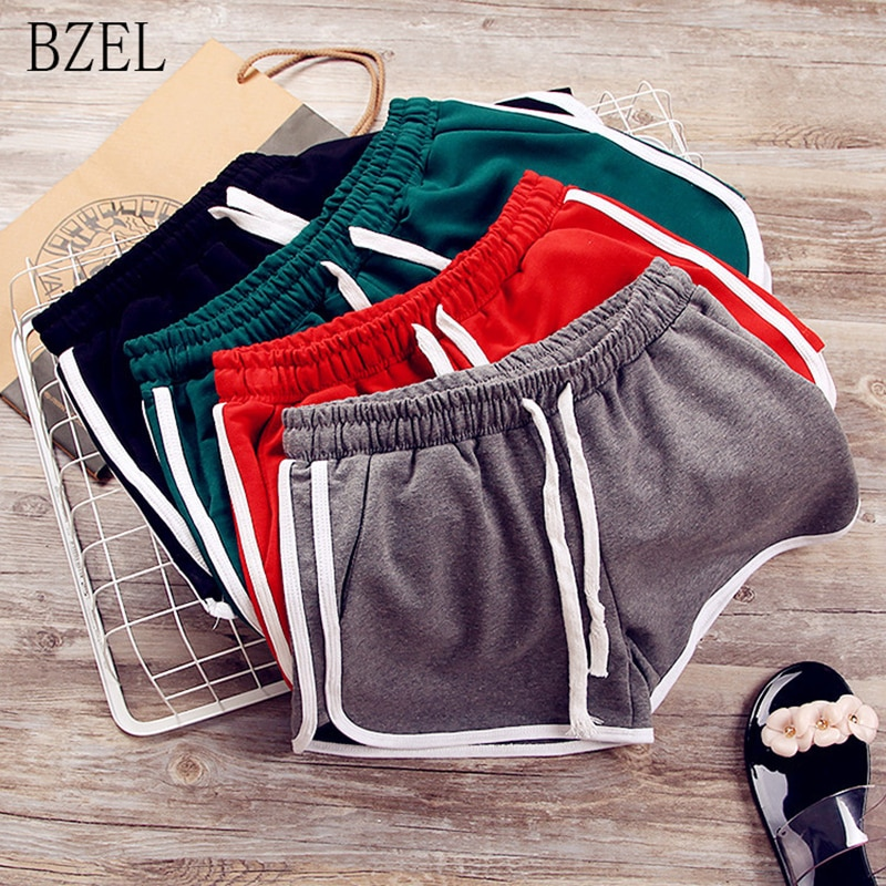 BZEL pijamas Shorts mujer Sleep Pants Casual ropa interior ropa de dormir mujeres algodón Sleep Bottoms Sport Shorts mujeres tamaño grande