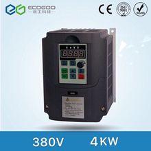 Onduleur contrôle de vitesse   4KW/5.5KW/7.5KW 380V 3 phases, inverseur de fréquence VFD, Triphase, sortie moteur 380V, convertisseur de vitesse, 50/60Hz