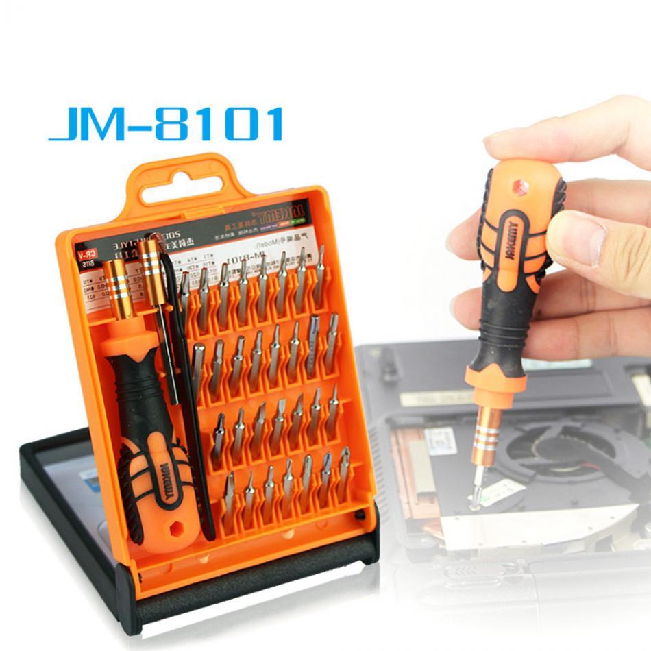 JAKEMY JM-8101 33 в 1 многофункциональная Прецизионная отвертка Набор для ноутбука мини электронные Биты Набор инструментов для ремонта