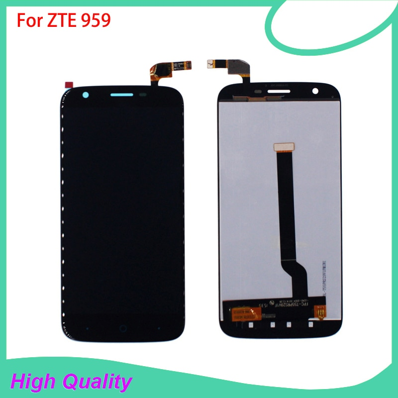 100% Tested LCD Display Touch Screen For ZTE Grand X 3 Z959 959 High Quality Mobile Phone LCDs Free