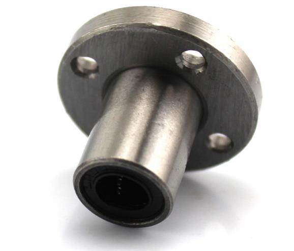 6-16mm electroplate steel Flange Shaft Coupling Rigid Flange Coupling Motor Guide Shaft Axis Bearing for diy car model