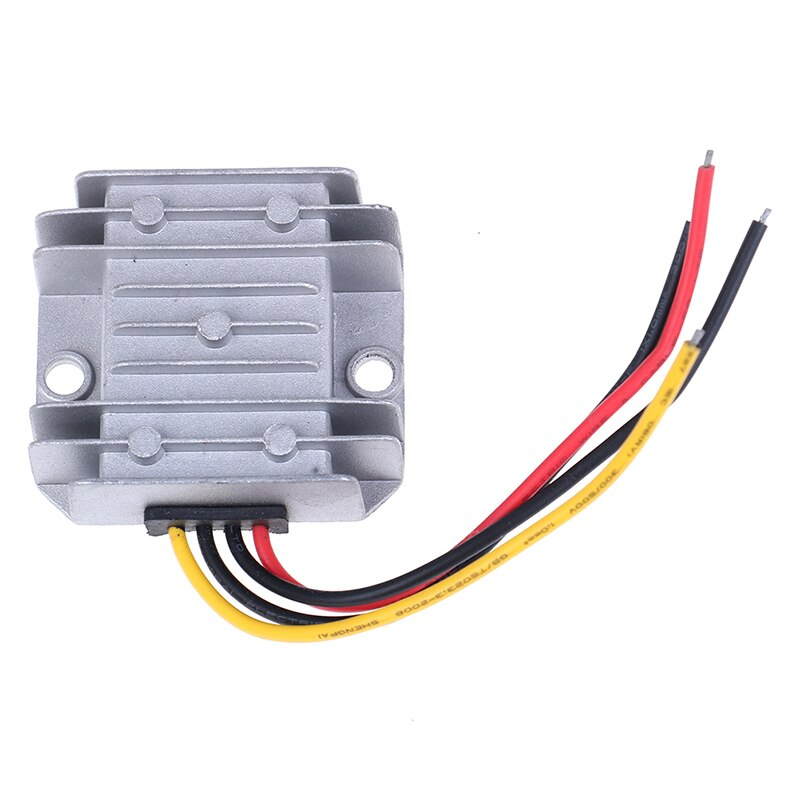 1 unidad de aluminio DC/DC Buck convertidor regulador 24V a 12V 10A 120W potencia del Monitor del coche suministro de