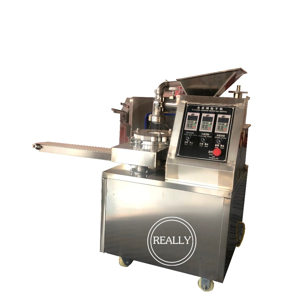 4800 pcs/H chino Jiaozi Bola de masa que hace la máquina de forma diferente de dumping de