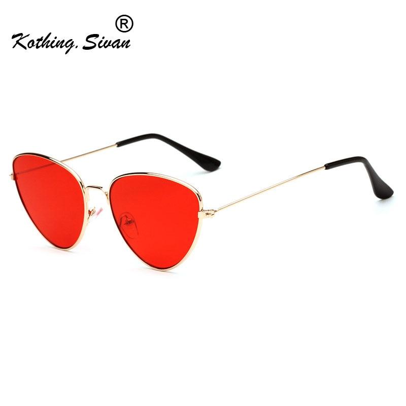 Cat Eye Women Sunglasses Tinted Color Lens Fashion Vintage Shaped Sun Glasses Women Eyewear 70s Luxe
