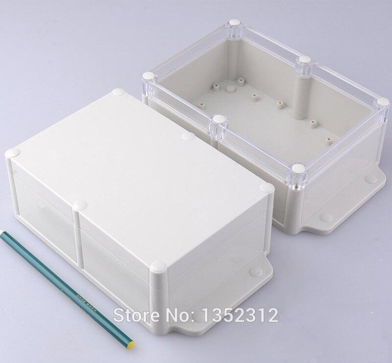 5 unids/lote 224*129*70mm IP68 carcasa de plástico electrónicos caja Caja impermeable DIY caja de interruptor proyecto de la caja de control