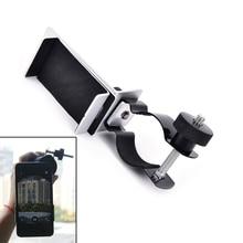 Spotting kapsamı cep telefonu adaptörü dağı-evrensel Digiscoping dürbün, teleskop, mikroskop adaptörü klip