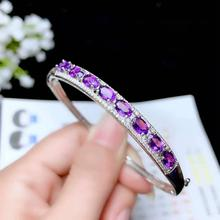 amazing  red amethyst gemstone bracelet for confident women jewelry