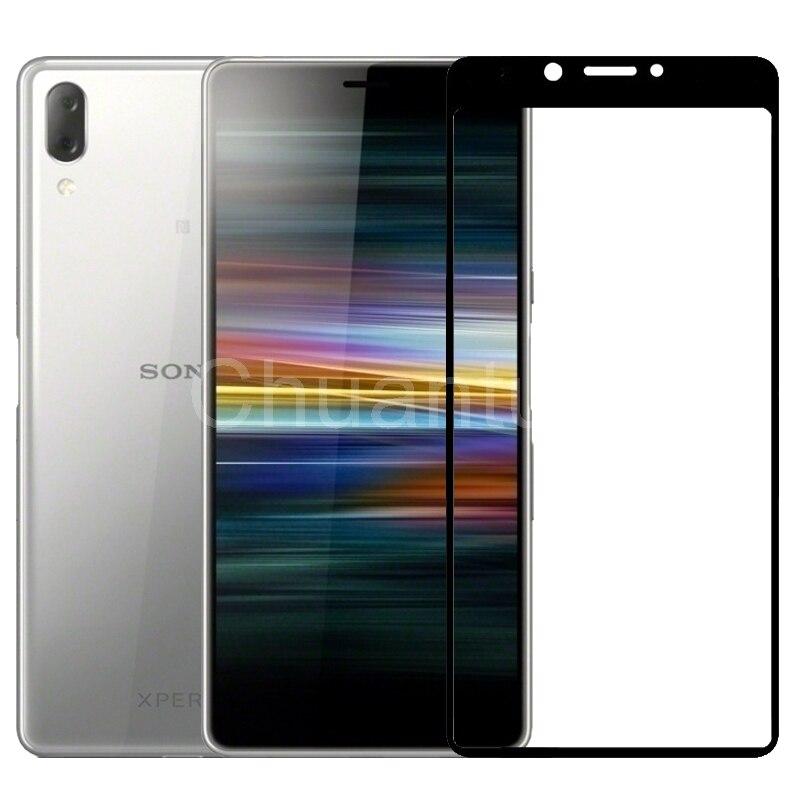 2,5 D 9H Premium Gehärtetem Glas für Sony Xperia L3 5.7 Full Coverage Glas-schirm-schutz-schützender Film für sony Xperia L4