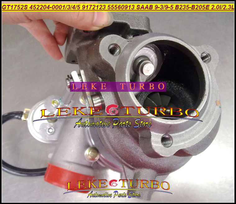 Envío Gratis Turbo GT1752S 452204, 452204-0001, 452204-0004, 9172123 turbocompresor para SAAB 9,3. 9,5 9-3 9 -5 97-05, B235E B205E 2.0L 2.3L