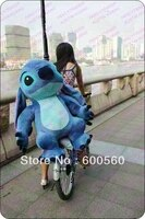 fancytrader 39 100 cm deluxe huge cute giant plush stuffed stitch birthday gift free shipping accept dropshipping ft90090