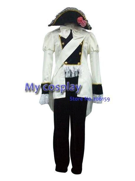 Anime Axis Powers Austria Uniform Cosplay Costume High Quality Unisex Halloween Clothing