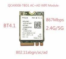 Atheros QCA9008-TBD1 sans fil ca + AD Bluetooth 4.1 Module WIFI 2.4G/5G double bande carte WIFI 867Mbps