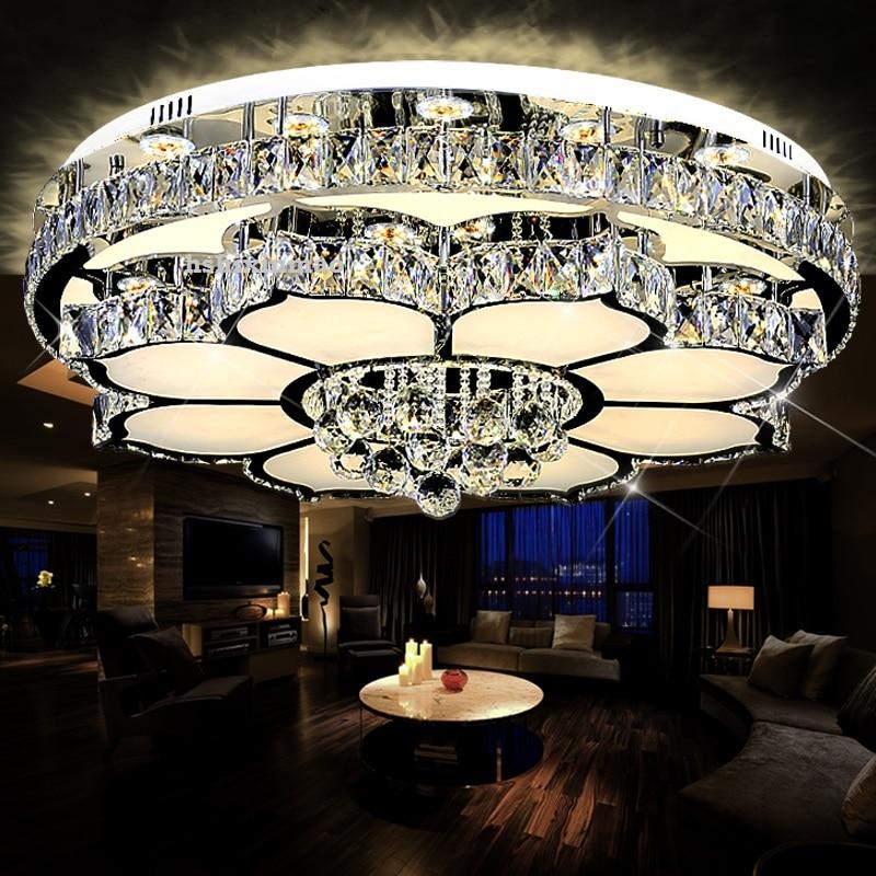 حلقة الصمام الاكريليك الفن أضواء السقف غرفة المعيشة غرفة نوم الدراسة مطعم مكتب مصابيح السقف 110-240 فولت