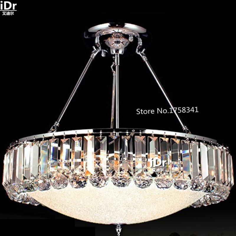 Lámpara moderna de cristal de Diseño popular seiko, lámpara led de cristal para dormitorio, lámpara colgante de salón, luces redondas de cristal de gama alta
