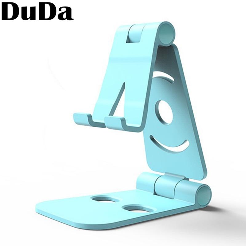 DuDa Desktop Stand Titular para xiaomi mi 8 honor 8x10 iPhone 7 8X6 Plus Samsung S9 S8 Plus de Carregamento Do Telefone móvel Montar Titular