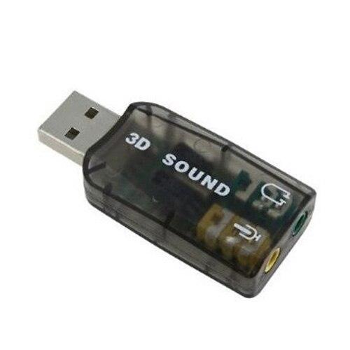 YOC-5 psc Sofort Externe 5,1 USB 3D Audio Soundkarte Adapter für PC Desktop Notebook Laptopcreate eine mikrofon audio jack