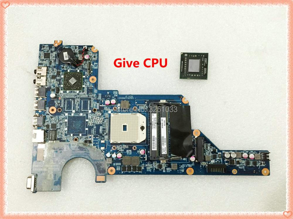 649948-001 para HP PAVILION G7-1365dx g7-1368dx G7-1328DX cuaderno R23 pabellón G4 G6 G7 placa base DA0R23MB6D1 DA0R23MB6D0