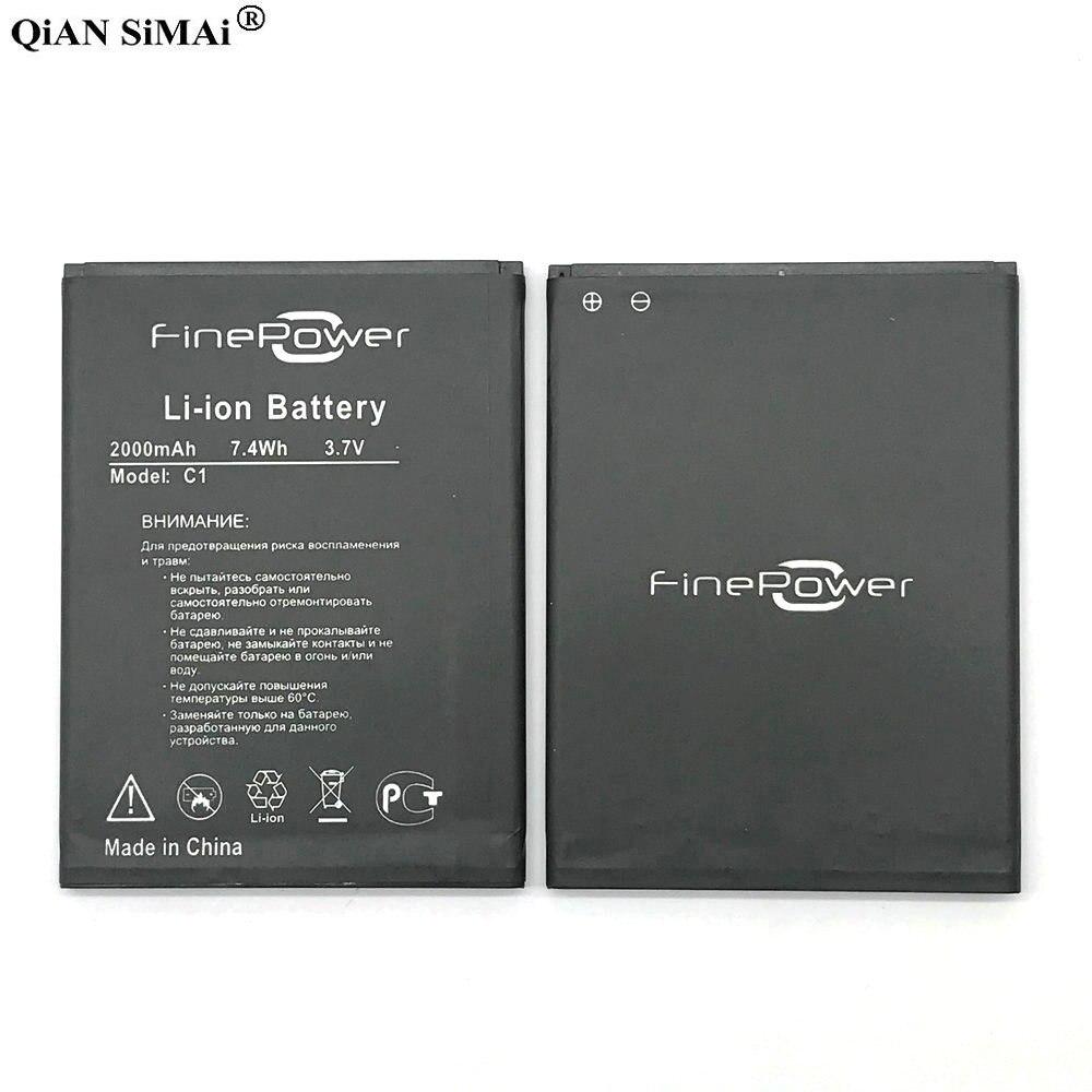 Nuevo alta calidad FinePower C1 batería de 2000 mAh para FinePower C1 teléfono