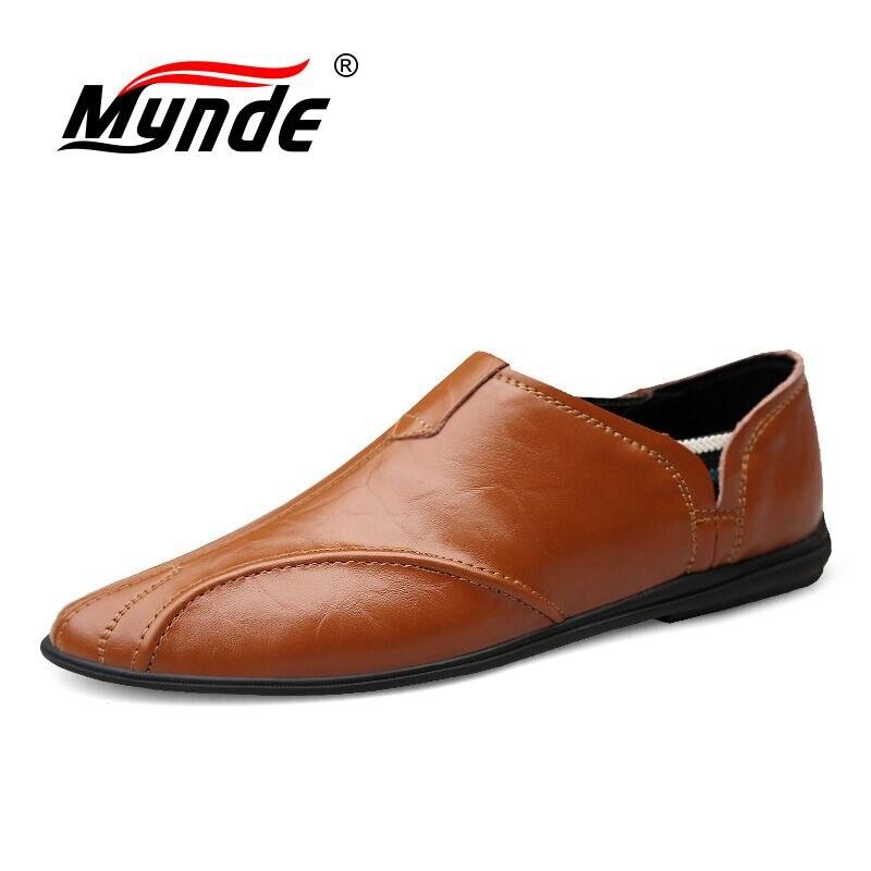 Vancat 2019 nuevos zapatos informales para hombre, mocasines de cuero para hombre hechos a mano, mocasines para hombre, zapatos planos para hombre, calzado para conducir, tamaño 38-47