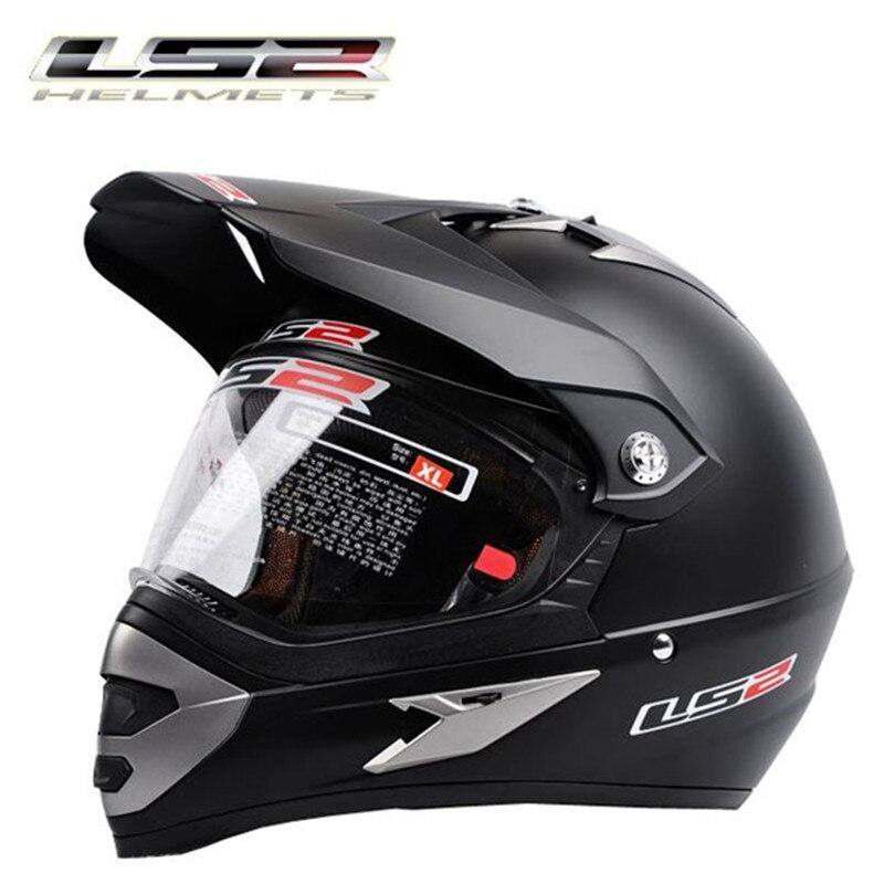 Nova chegada capacete casco ls2 moto cruz capacetes profissional dos homens fora de estrada moto rcycle capacete da bicicleta sujeira rally racing moto capacete