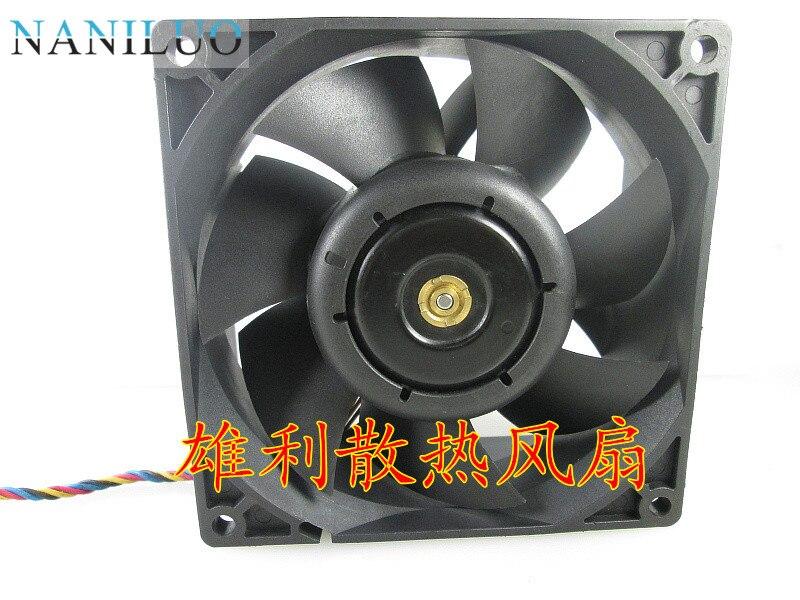 NANILUO 100% новый для AFC0912DE 9 см 9,2 см 9038 9238 90 мм 92 мм 12 В постоянного тока 3A автомобильный бустер, мощный вентилятор охлаждения, бесплатная доставк...