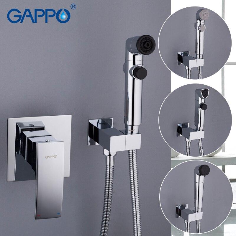 GAPPO Bidets гигиеническая мойка для душа смеситель для туалета душ опрыскиватель настенный мусульманский Биде набор для душа