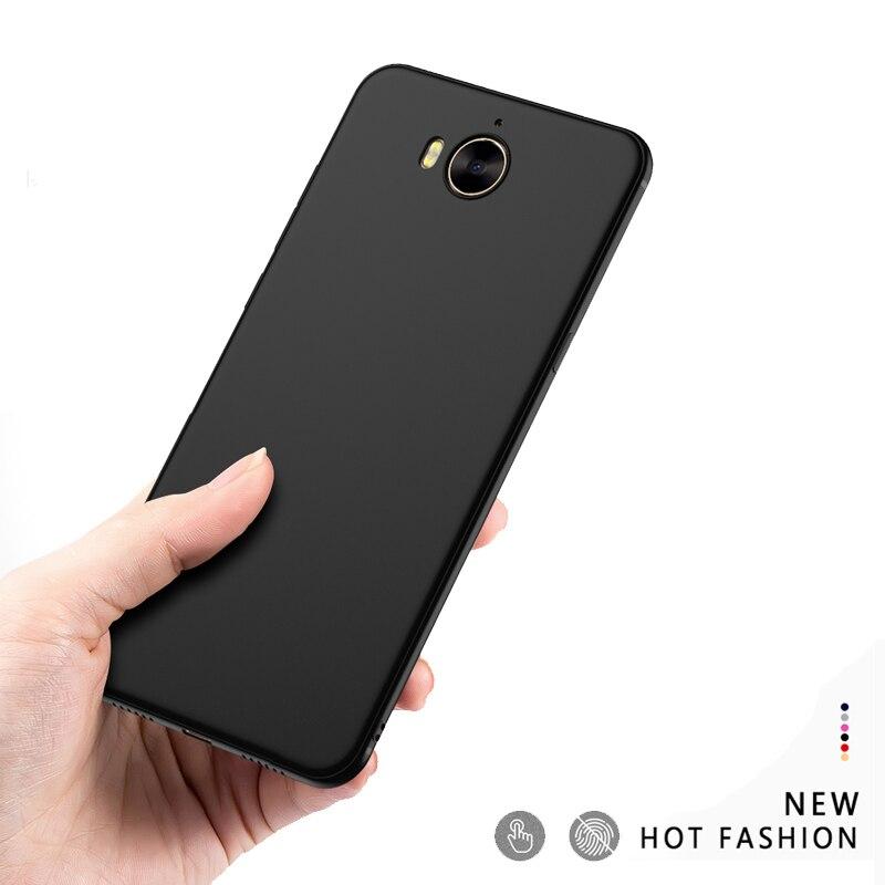 Para Huawei Y5 2017 / Y6 2017 funda de silicona para Huawei mya l11 l22 l41 funda suave TPU mate delgada para Huawei Nova Young