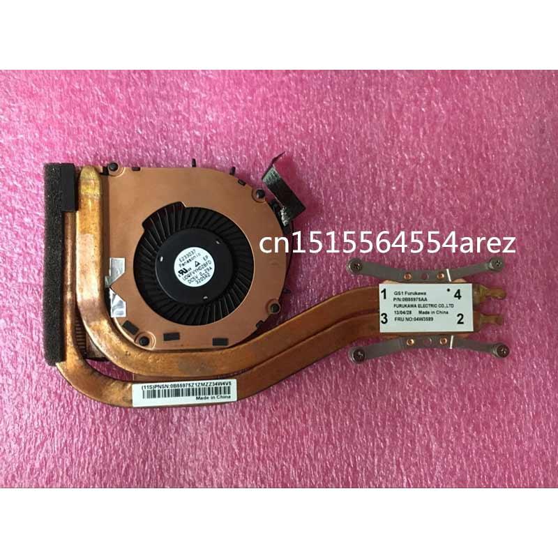 New and Original laptop Lenovo ThinkPad X1 carbon 1st Gen Type 34xx The fan, the radiator 04W3589 0B55975AA