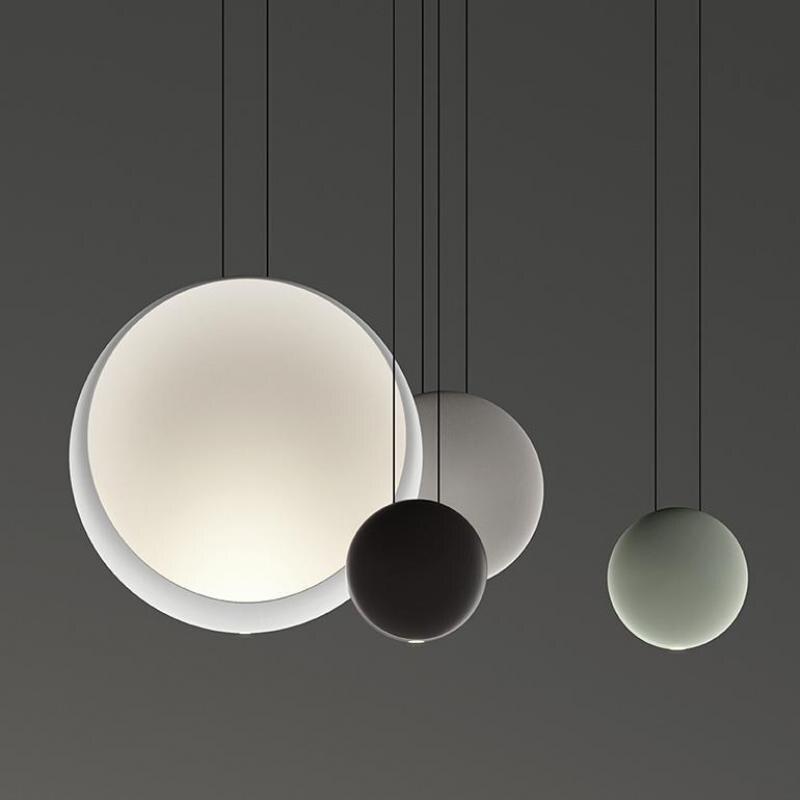 Diseño de Cosmos Post-moderno de Lievore Altherr Molina de Vibia lámpara colgante de resina Led para comedor Sala dormitorio 1167