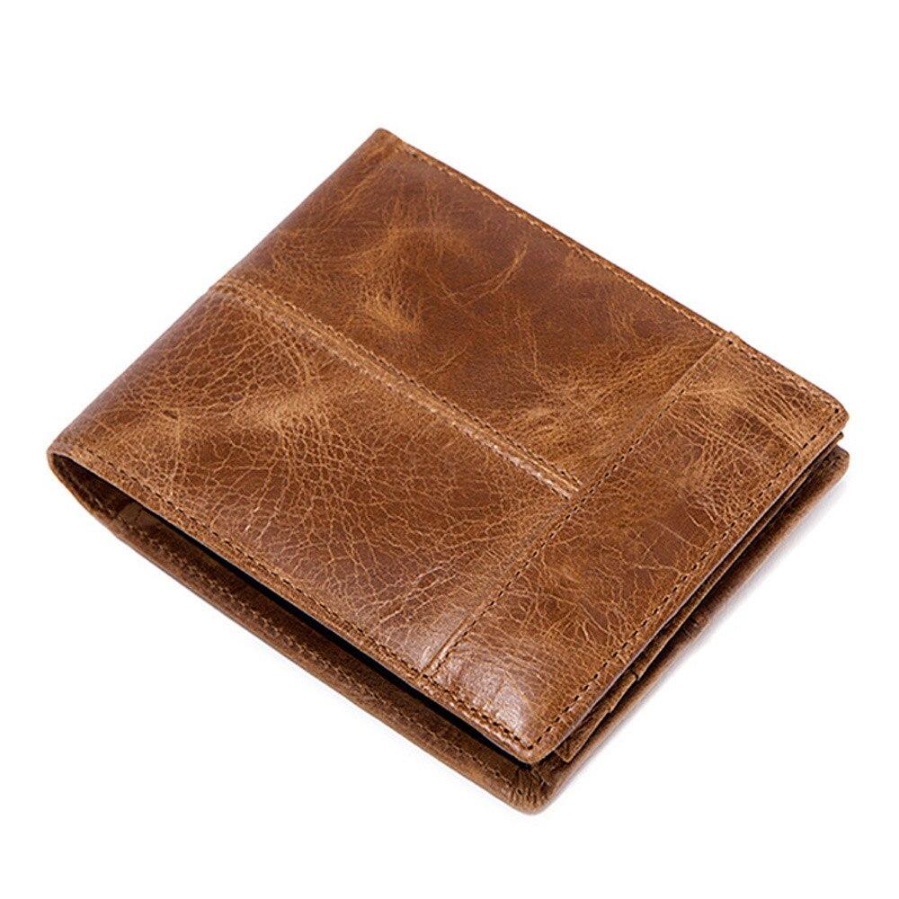 Bolsa de couro genuíno carteira de bolso de couro de vaca masculina bolsa de moedas com zíper pequeno dinheiro bolsas de embreagem
