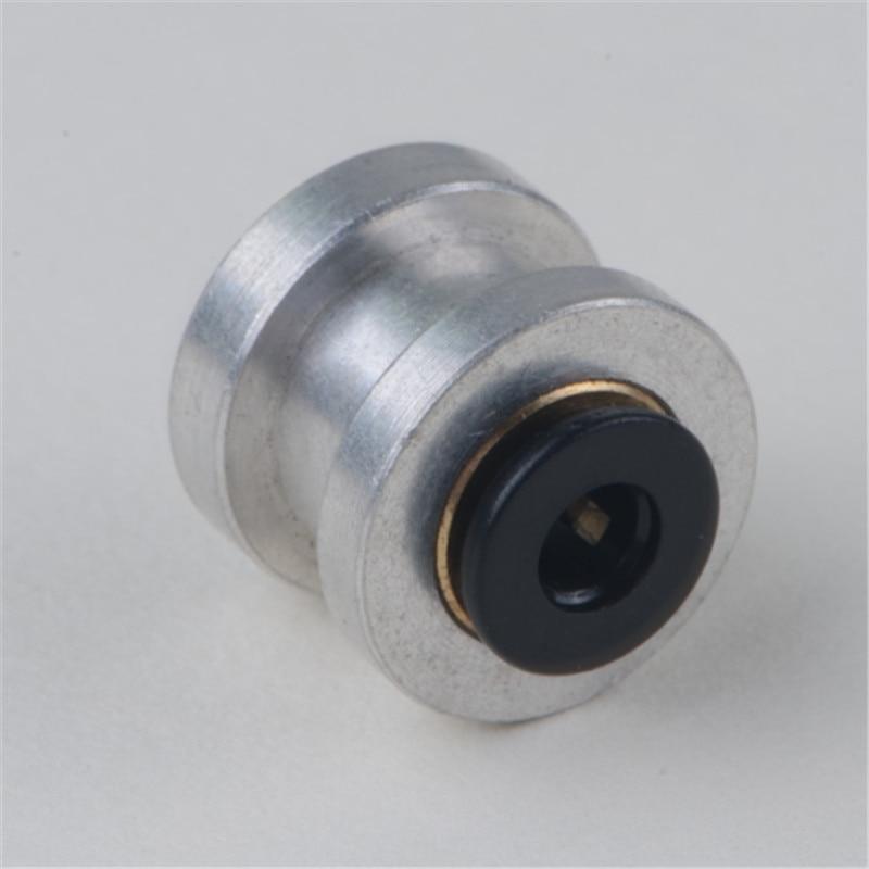 10 Uds Reprap 3D impresora Titan extrusora ranura montaje Bowden adaptador 1,75mm/3mm filamento (4mm/6mm/mm OD tubo)